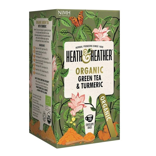 Heath & Heather Green Tea & Turmeric
