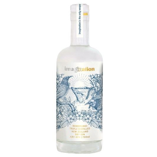 Imagination Reikorangi Triple Distilled Dry Gin 700ml