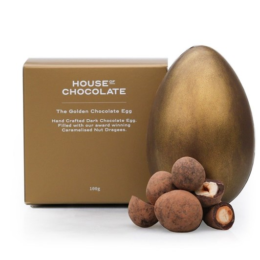 House of Chocolate The Golden Chocolate Egg