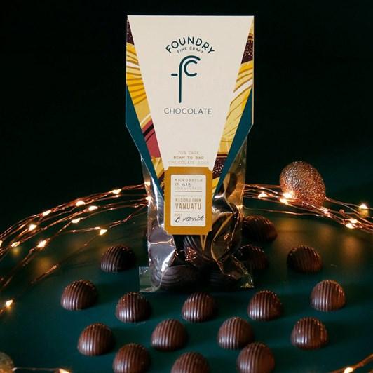 Foundry Chocolate Vanuatu Mini Solid Eggs 70g