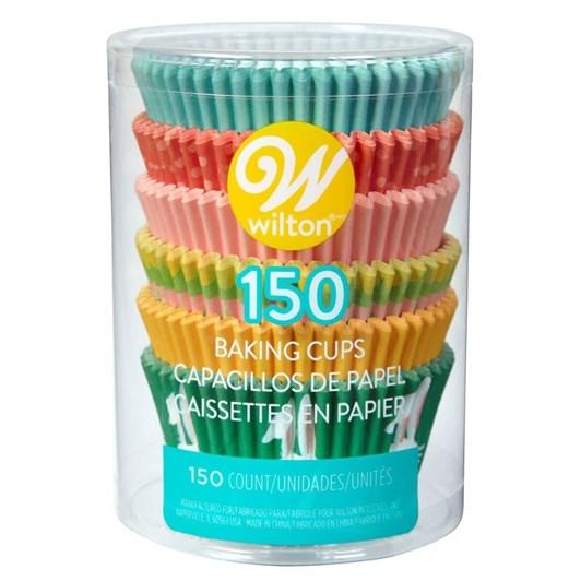 Wilton Std Baking Cups Tube 150Ct