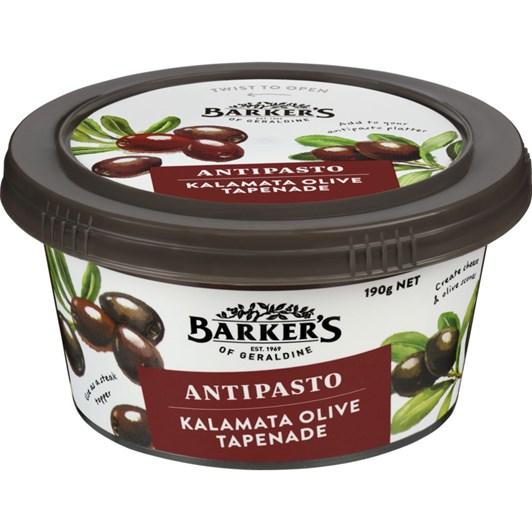 Barkers Kalamata Olive Antipasto 190g