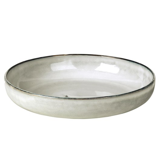 Broste Nordic Sand Low Bowl