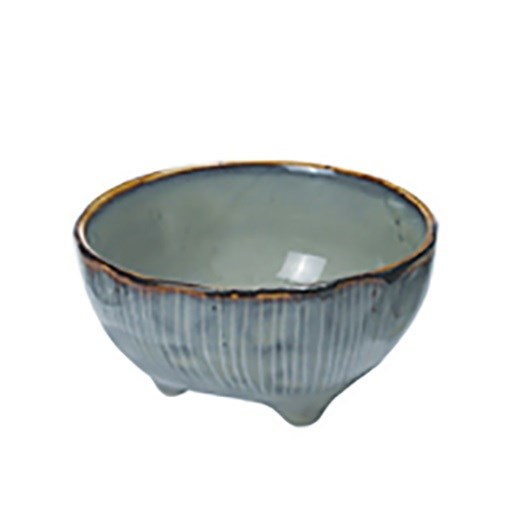 Broste Nordic Sea Large Bowl With Feet