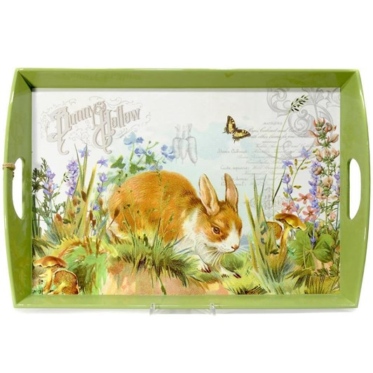 MDW Bunny Hollow Wooden Tray