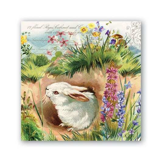 MDW Bunny Hollow Luncheon Napkins