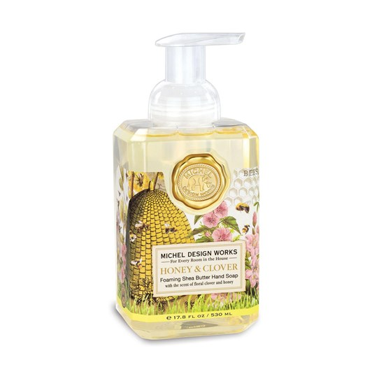 MDW Honey & Clover Foaming Soap
