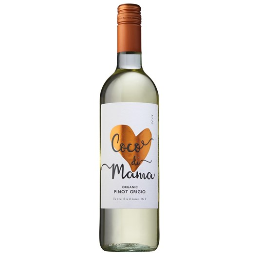 Coco di Mama Organic Pinot Grigio