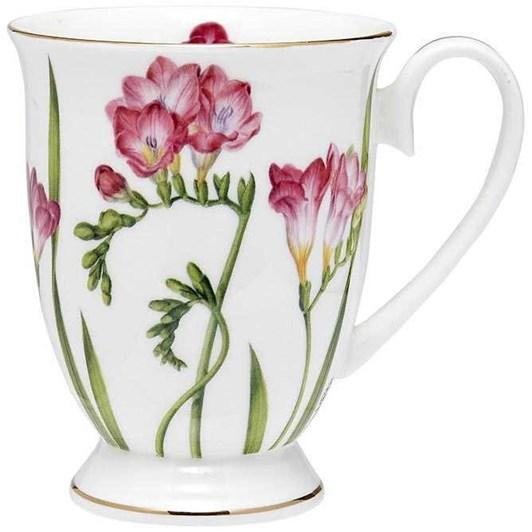 Ashdene Floral Symphony Freesia Footed Mug