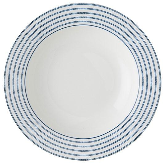 Laura Ashley Plate Candy Stripe 26