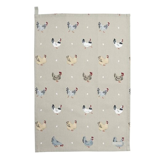 Sophie Allport Tea Towel - Lay A Little Egg