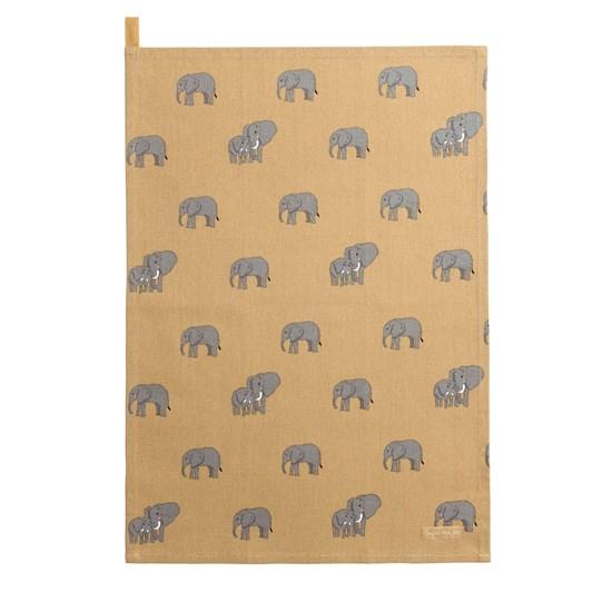 Sophie Allport Tea Towel - Zsl - Elephant