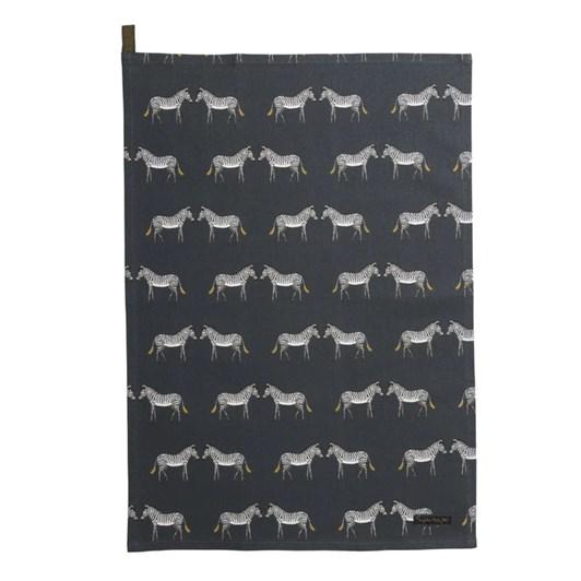 Sophie Allport Tea Towel - Zsl - Zebra