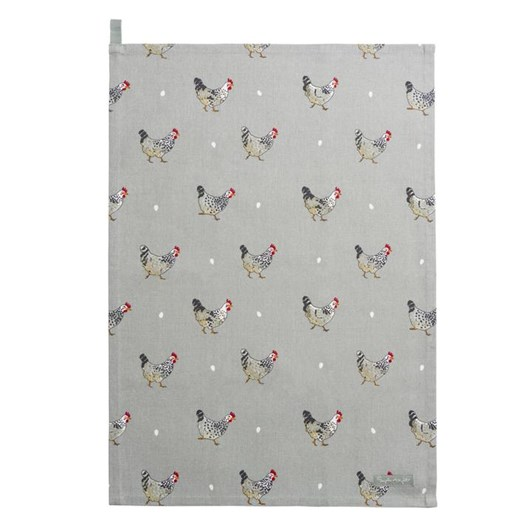 Sophie Allport Tea Towel - Chicken