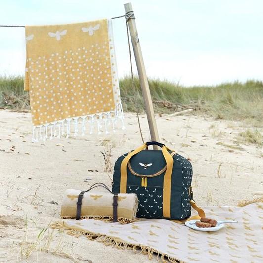 Sophie Allport Picnic Bag - Bowling - Bees