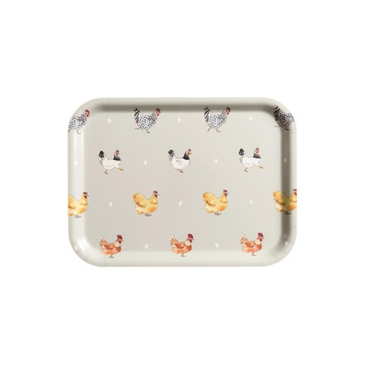 Sophie Allport Printed Tray - Large - Lay A Little Egg