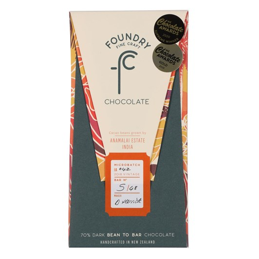 Foundry Chocolate Anamalai Estate 70g