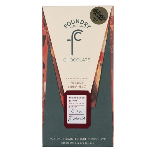 Foundry Chocolate Soconusco Chiapas Mexico 70g