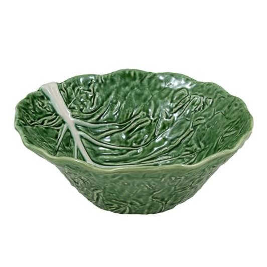 Bordallo Cabbage Deep Salad Bowl 29 Natural
