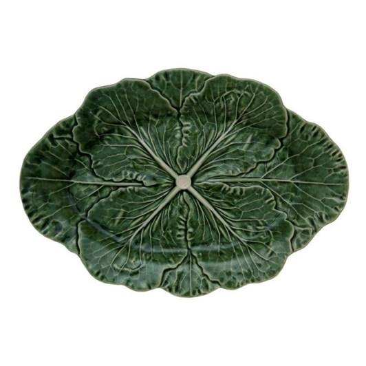 Bordallo Cabbage Oval Platter 37.5