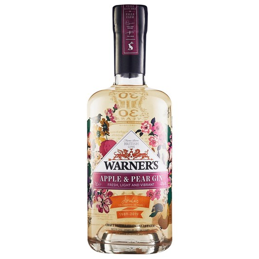 Warner's Apple & Pear Gin 40% 700ml