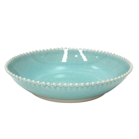 Pearl Bowl 34cm Aqua