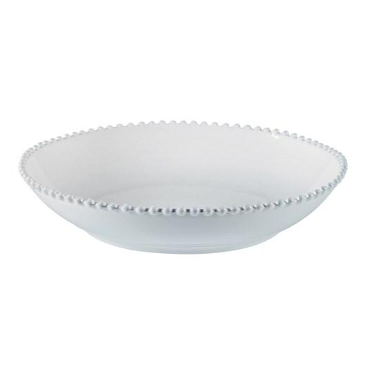 Pearl Bowl 34cm White