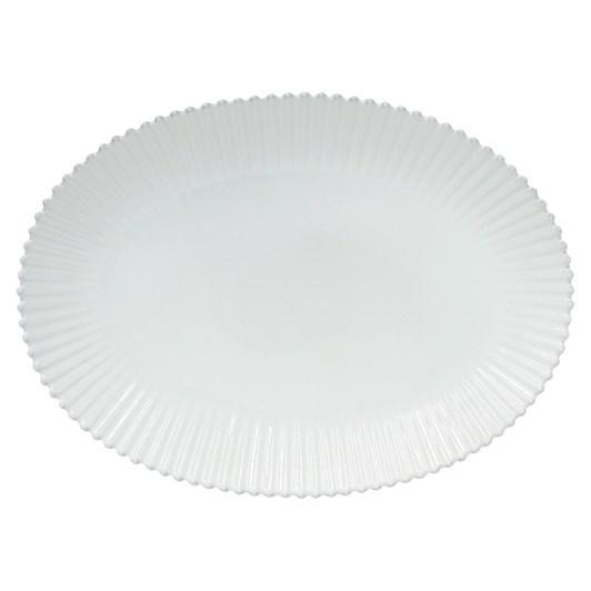 Pearl Oval Platter 50cm White