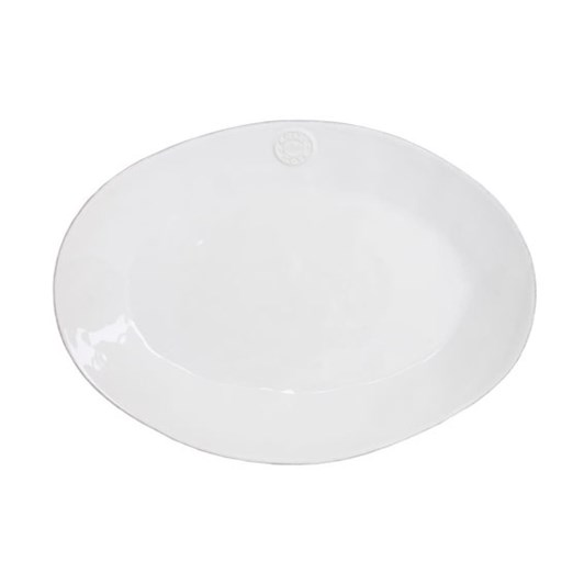 Costa Nova Oval Platter 40cm White
