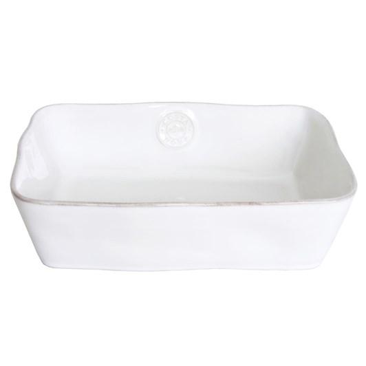 Costa Nova Rect Baker 25cm White