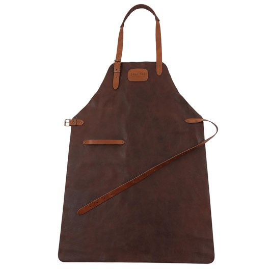 Crafted Leather Rustic Apron with Logo