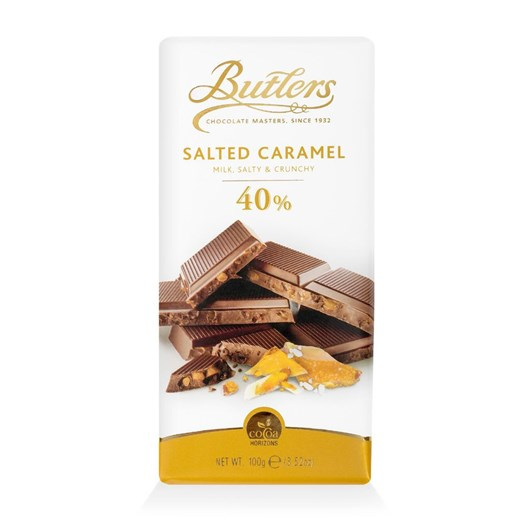 Butlers 40% Milk Salted Caramel Bar 100g