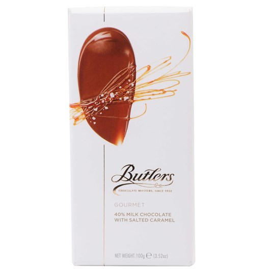 Butlers 40% Milk Salted Caramel Bar 100g