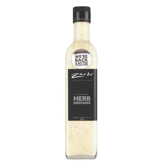 Zarbo Herb Dressing 500ml