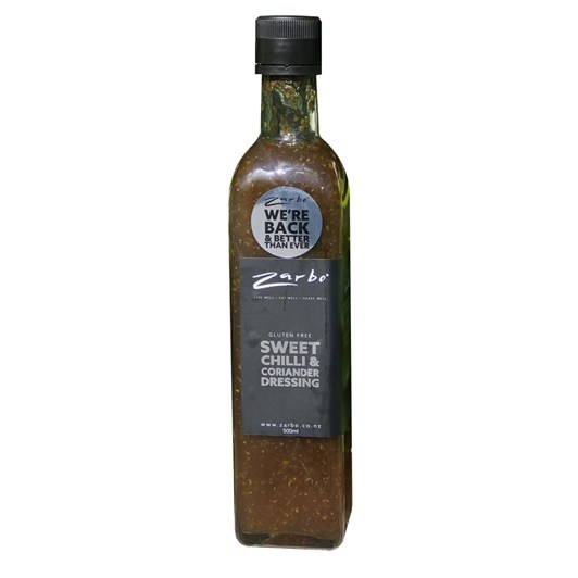 Zarbo Sweet Chilli & Coriander Dressing 500ml