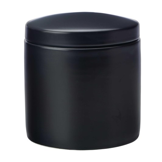 Maxwell & Williams Epicurious Canister 1L Black Gift Boxed