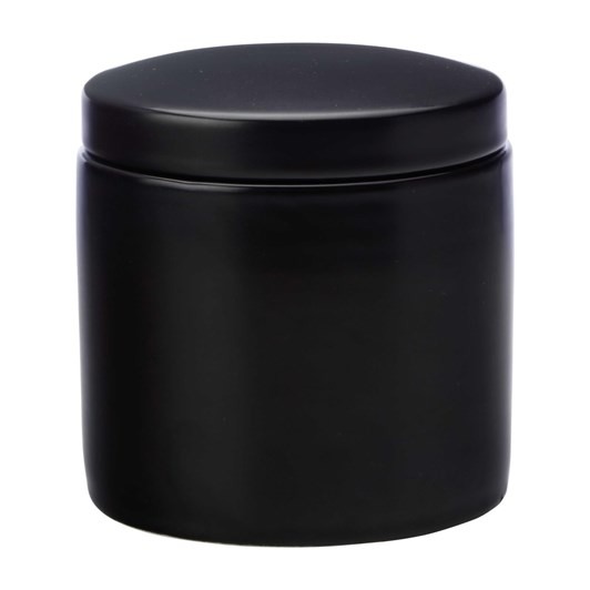 Maxwell & Williams Epicurious Canister 600ML Black Gift Boxed
