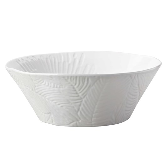 Maxwell & Williams Panama Round Serving Bowl 25cm White Gift Boxed