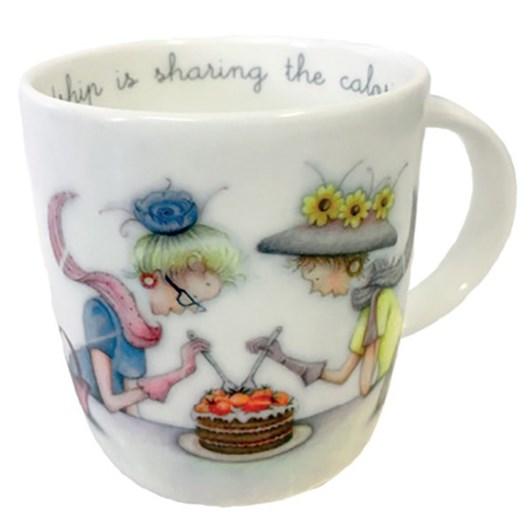 Roy Kirkham Sharing The Calories Berni Parker Mug