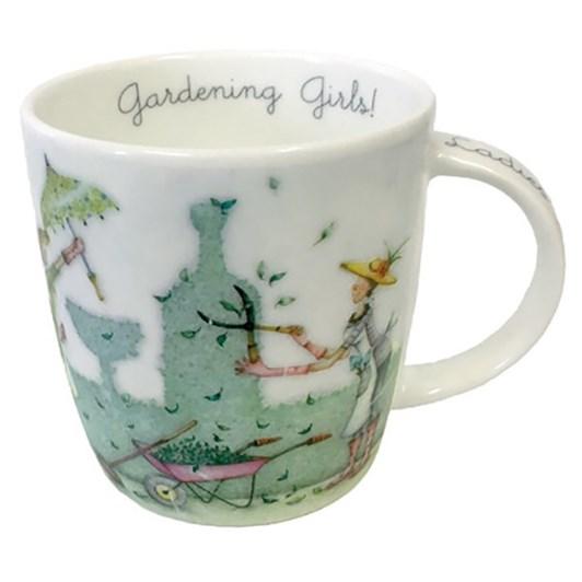 Roy Kirkham Gardening Girls Bernie Parker Mug