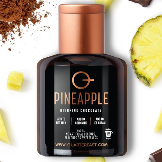 QuarterPast Pineapple Chocolate - 360ml
