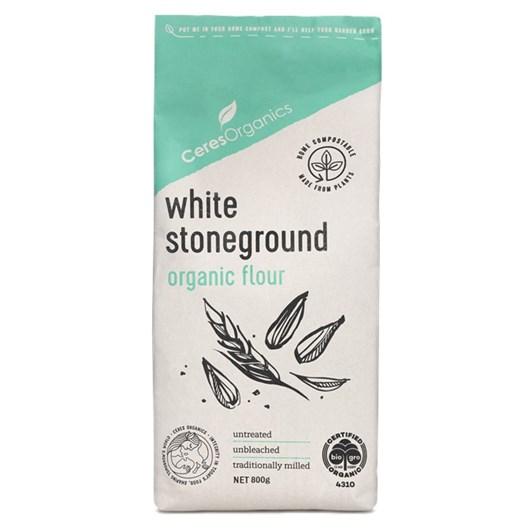 Ceres  Bio White Flour Stoneground - 800gm