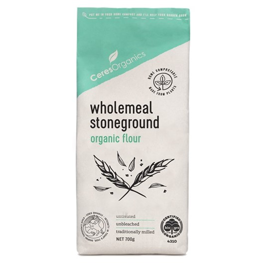 Ceres  Bio Wholemeal Flour Stoneground - 800gm