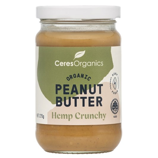 Ceres Peanut Butter Hemp Crunchy - 275gm