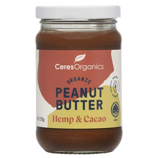 Ceres Peanut Butter Hemp Cacao - 275gm