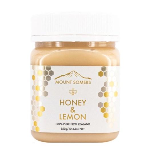Mount Somers Lemon Honey - 350g