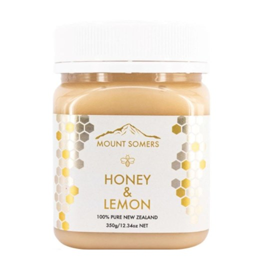 Mount Somers Lemon Honey - 350g