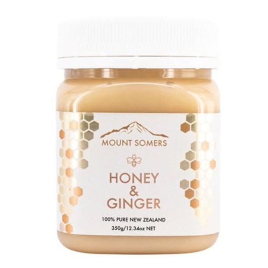 Mount Somers Ginger Honey - 350g