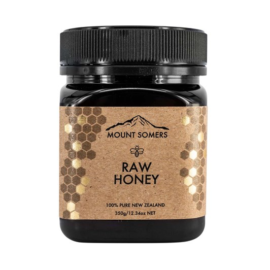 Mount Somers Raw Honey - 350g