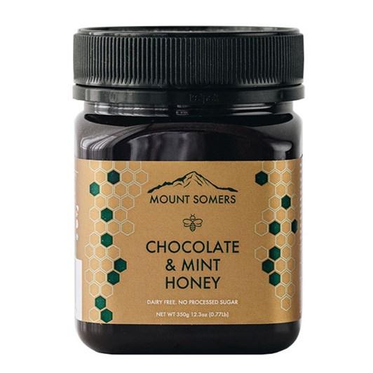 Mount Somers Chocolate & Mint Honey 350g
